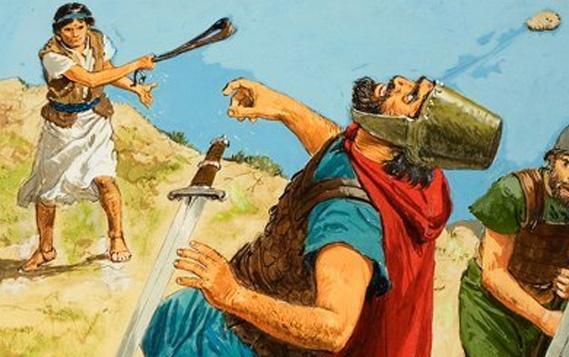 david vs goliath dalam bisnis kita
