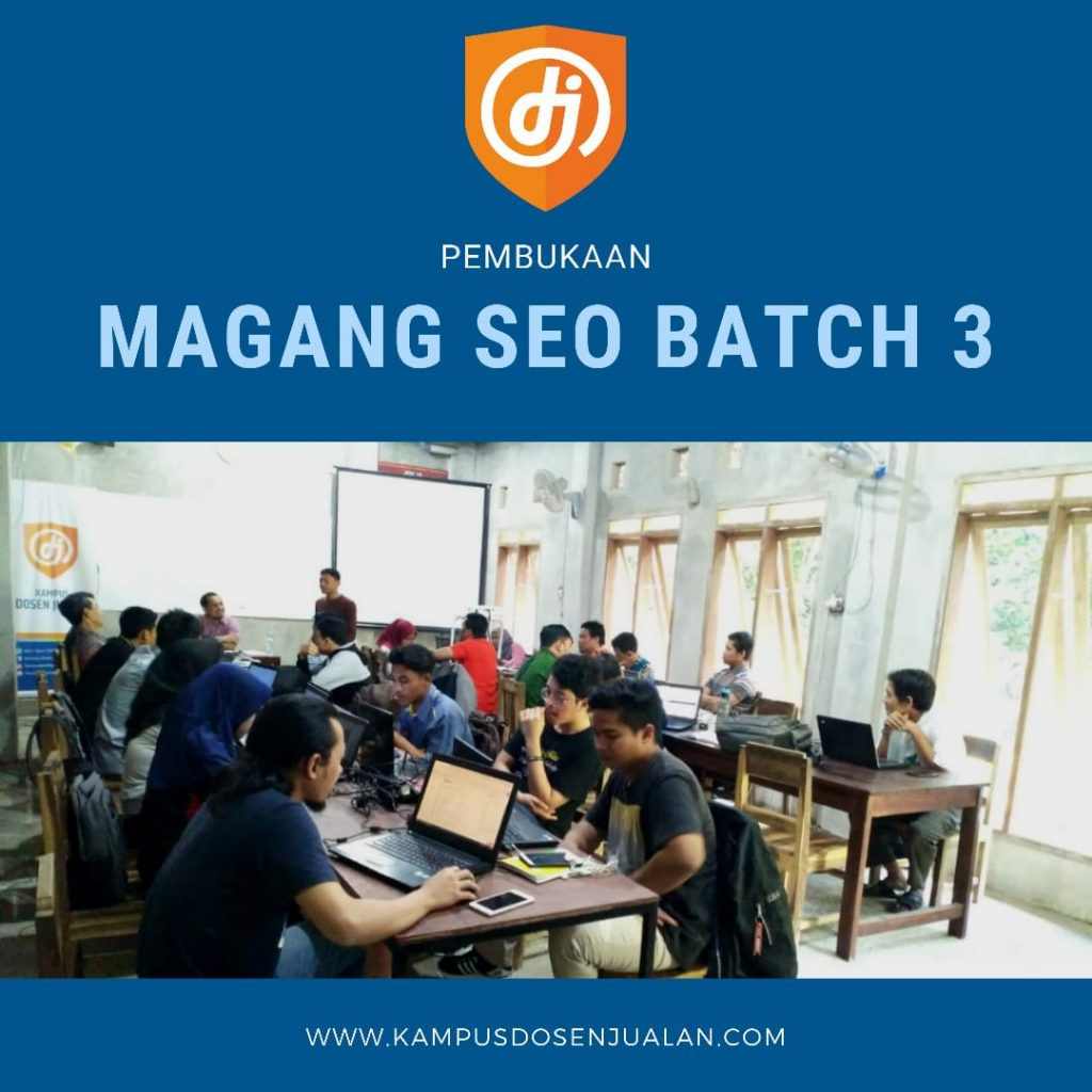 Magang Seo Batch 3