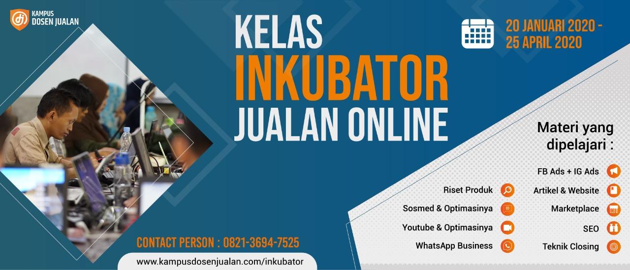 Inkubator Jualan Online