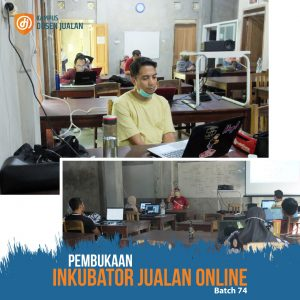 pembukaan kelas inkubator jualan online
