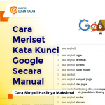Cara Meriset Kata Kunci Google
