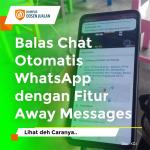 cara balas chat otomatis WA