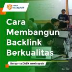 cara membangun backlink berkualitas