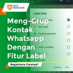 cara mengelompokkan kontak whatsapp