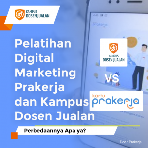 pelatihan digital marketing prakerja
