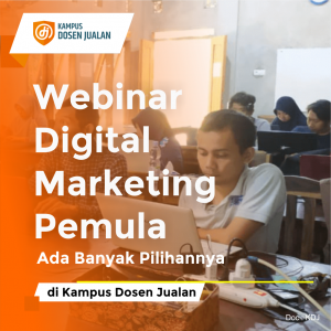webinar digital marketing pemula
