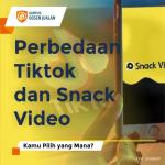 Perbedaan Tiktok dan Snack Video