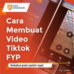 cara membuat video tiktok fyp