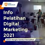 Info Pelatihan Digital Marketing 2021