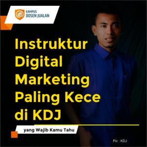 Instruktur Digital Marketing