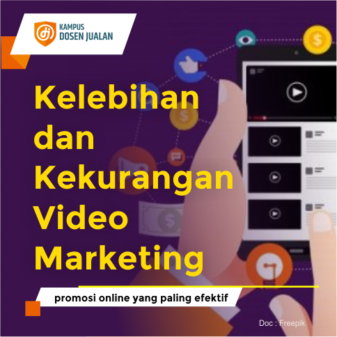 Kelebihan dan Kekurangan Video Marketing