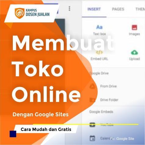 Membuat Toko Online Dengan Google Sites