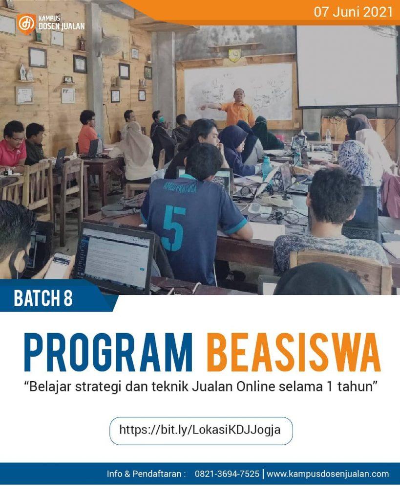 Program Beasiswa Kampus Dosen Jualan poster