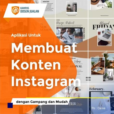 aplikasi untuk membuat konten instagram