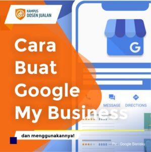 Cara Buat Google My Business
