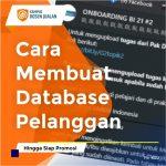 Cara Membuat Database Pelanggan