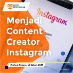 Cara Menjadi Content Creator Instagram