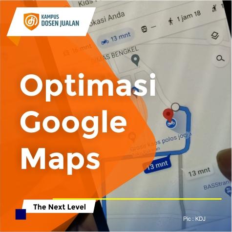 Optimasi Google Maps