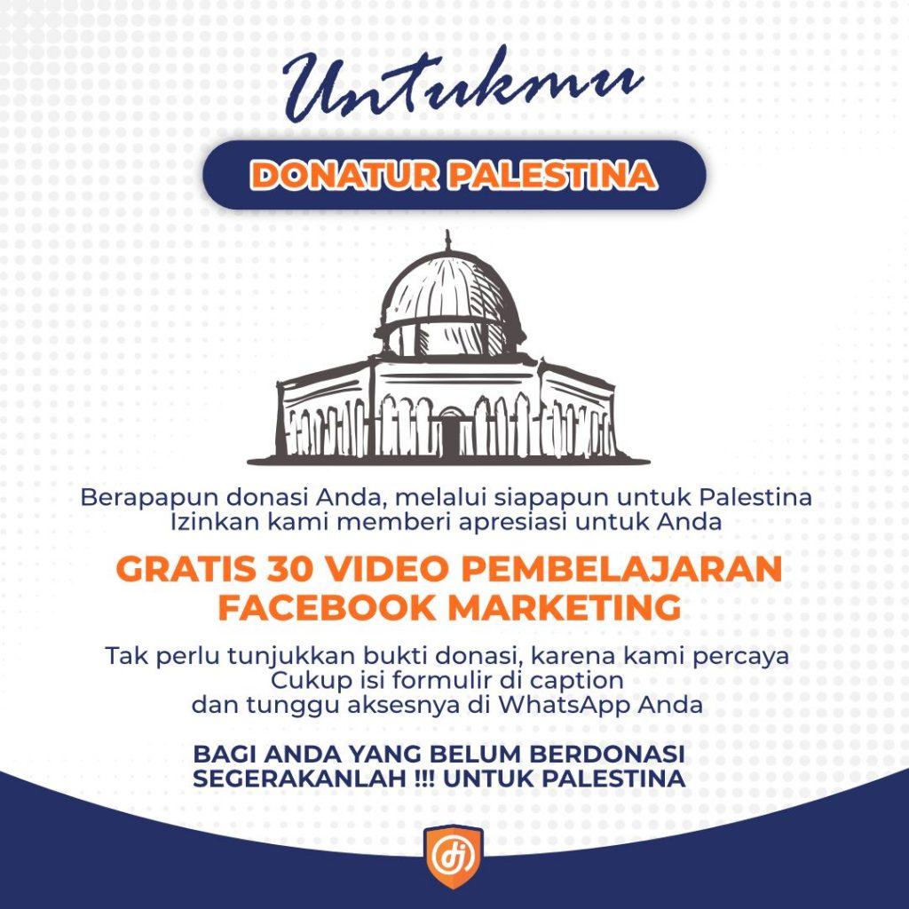 Untukmu Donatur Palestina kdj