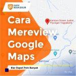 cara mereview google maps