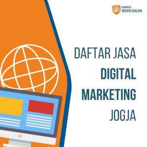 Daftar Jasa Digital Marketing Jogja