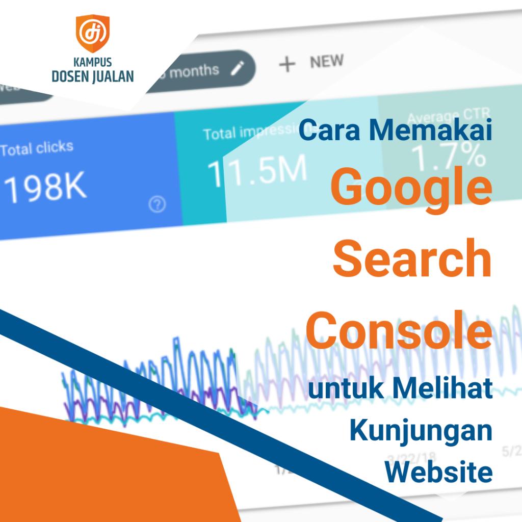 cara memakai google search console