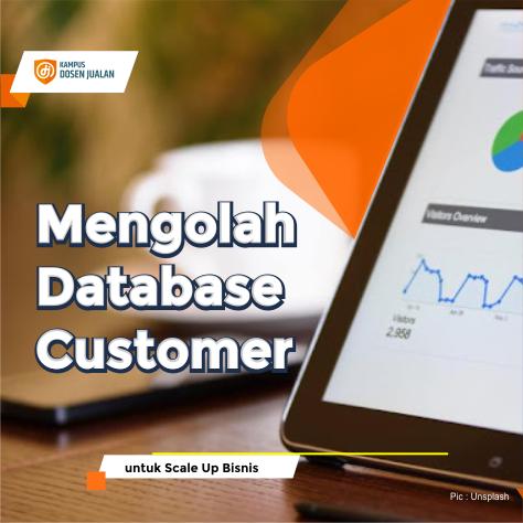Cara Mengolah Database Customer