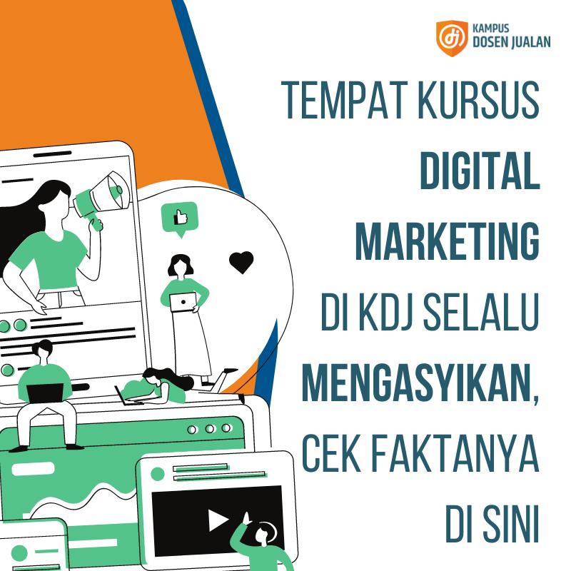Tempat Kursus Digital Marketing