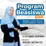program beasiswa kdj