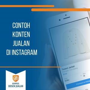 Contoh Konten Jualan di Instagram