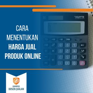 cara menentukan harga jual produk online